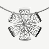 Kuura Pendant, 145€, Sterlin silver, Design by Kristian Saarikorpi