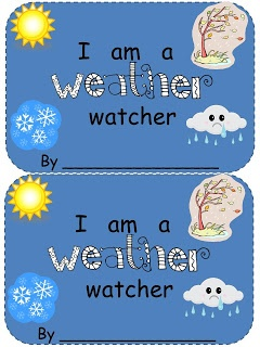 For the Love of Kindergarten: Winter Weather Easy Reader (freebie)