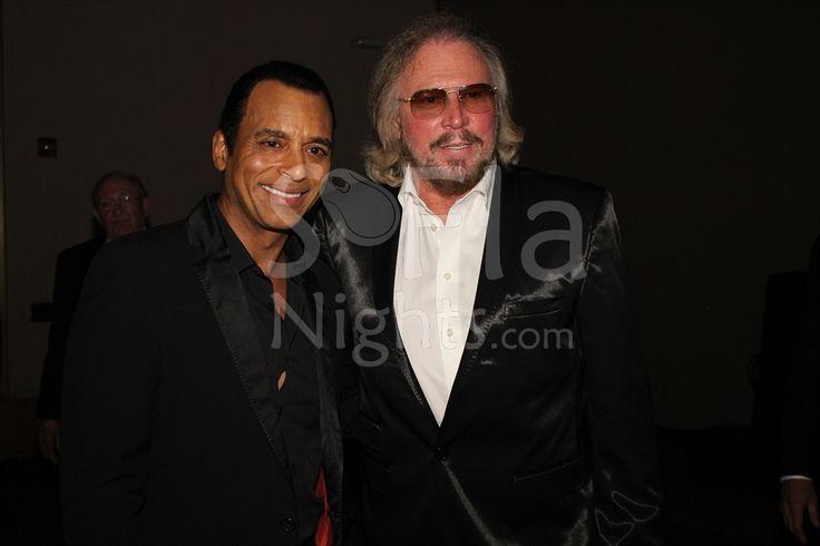 Jon Secada, Barry Gibb at Valentine's Day with Jon Secada at the Love and Hope