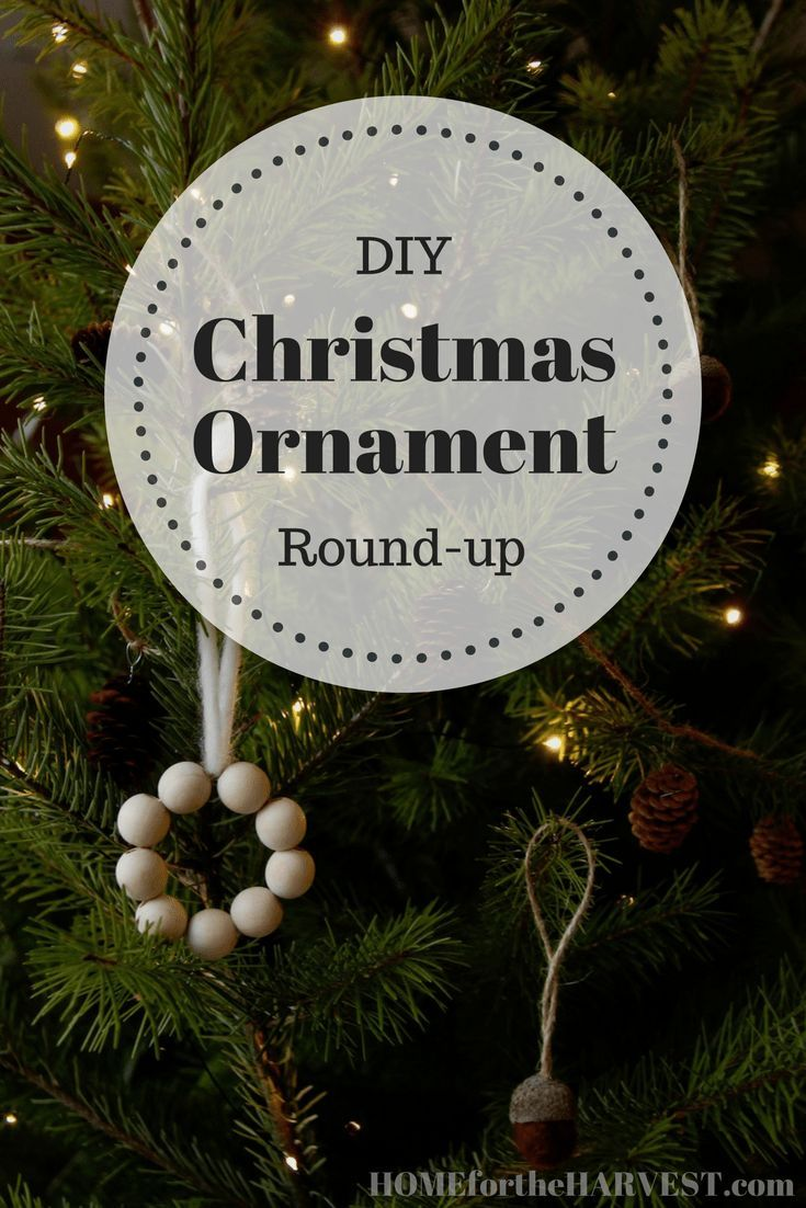 Easy DIY Natural Christmas Decorations A RoundUp of Favourites