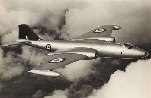 RAAF Canberra Bomber