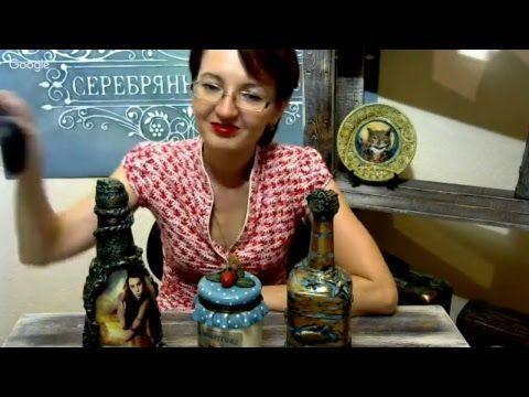 Зоя Меркулова, шкатулка с имитацией слоновой кости. Мировой декупаж. Фактурные тренды.