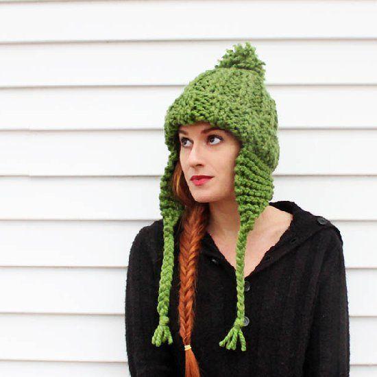 Ear Flap Hat Knitting Pattern