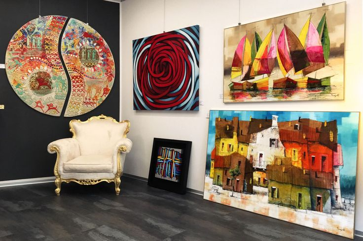 fluidofiume Galleria d'arte a Trieste, Italia - Quadri, dipinti, opere d'arte contemporanee