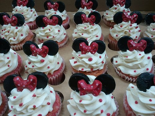 Mini Mouse Cupcakes | Flickr - Photo Sharing!