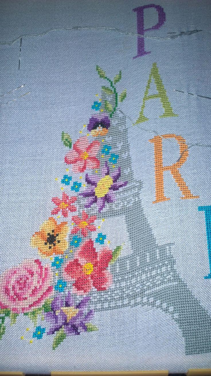 Cover Paris - I build a cross for the Eiffel Tower cross.