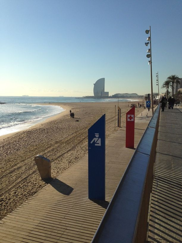 Barceloneta, Barcelona, Spain — by Saeed D. Barceloneta beach #beach