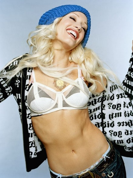 Gwen Stefani abs - workout motivation