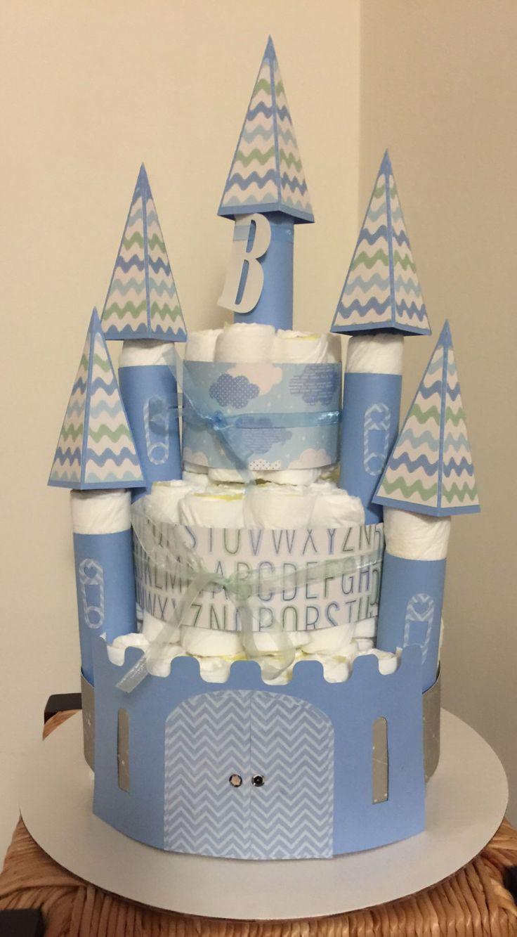best 25+ castle diaper cakes ideas only on pinterest | diaper