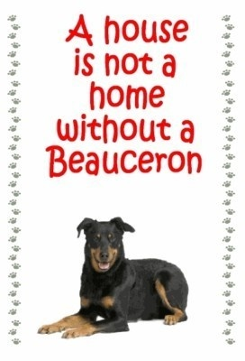 BEAUCERON owners - just for you. One of over 200 breeds in our ebay store.