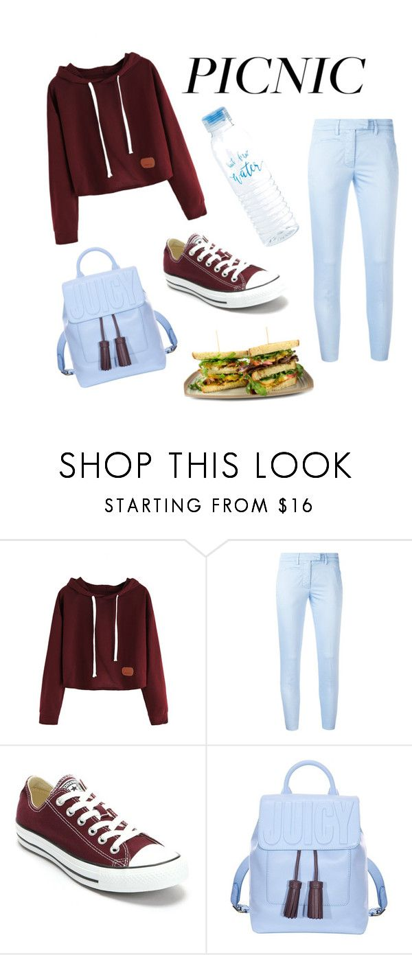 """""""Picnic outfit"""" by annabecanova on Polyvore featuring Dondup, Converse and Juicy Couture"""