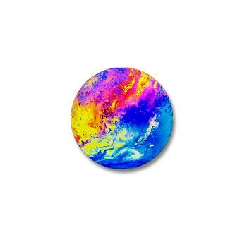 Beautiful weather Mini Button