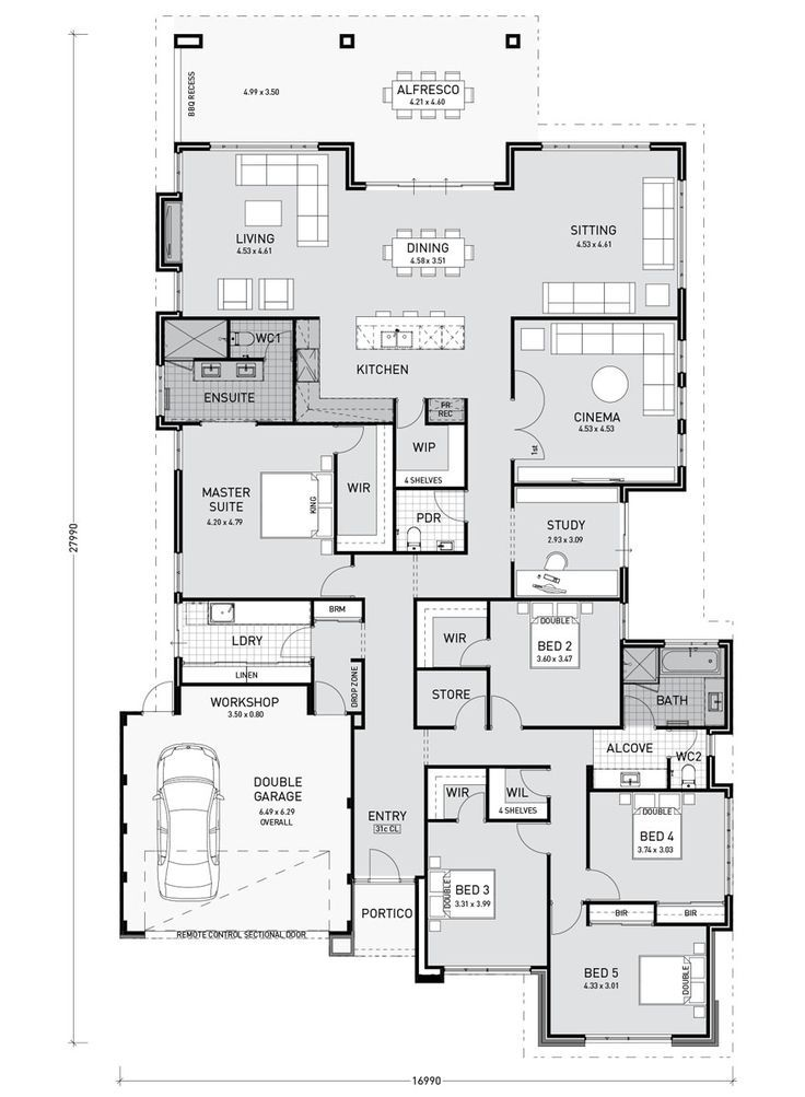 Oprah Key Features: Minor bedroom wing and with wa…