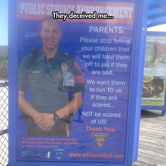 Cops Send Parents A Message