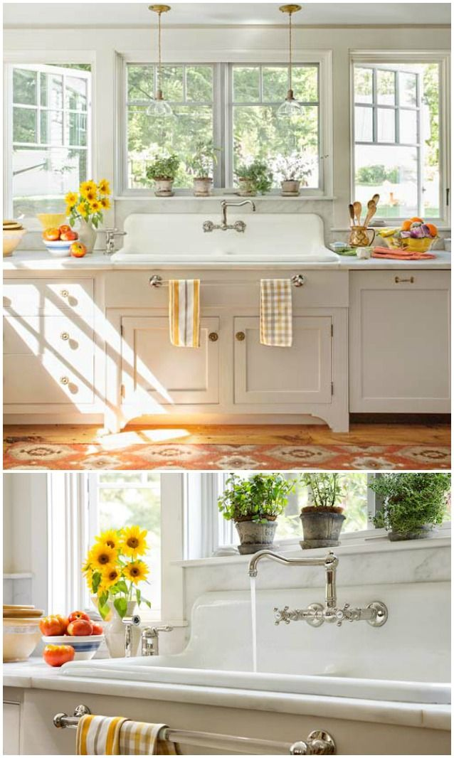 Best 25 Vintage kitchen sink ideas on Pinterest Cottage kitchen