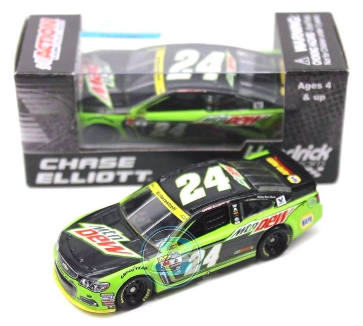 2016 CHASE ELLIOTT #24 MOUNTAIN DEW DOVER 1/64 NASCAR DIECAST FREE SHIP #Action #CHEVY