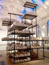 Clare Twomey - Manifest: 10,000 Hours, York Art Gallery, 2016