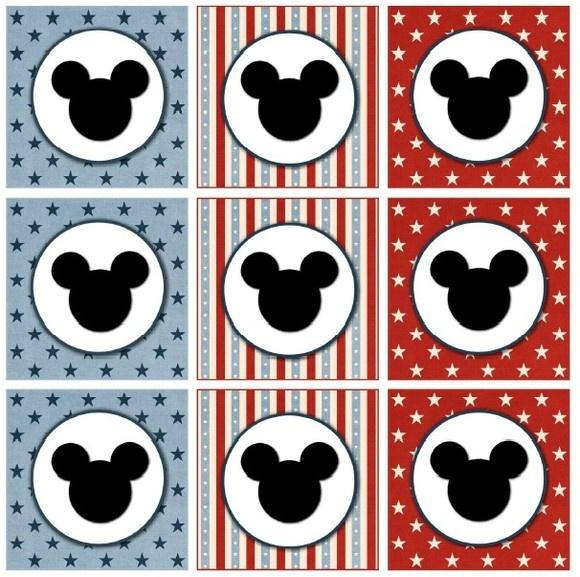 Kit Festa Mickey em scrap