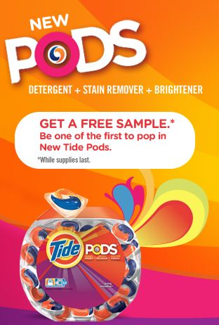 Free Tide Pods from GoodHousekeeping + you could win a gift pack-