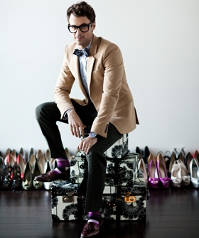 "Brad Goreski   Q: Where did your thirst for glamour come from?  Brad: ""Barbie. Plain and simple.""--please be my stylist. please?"