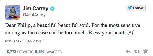 Hollywood Stars Mourn Philip Seymour Hoffman