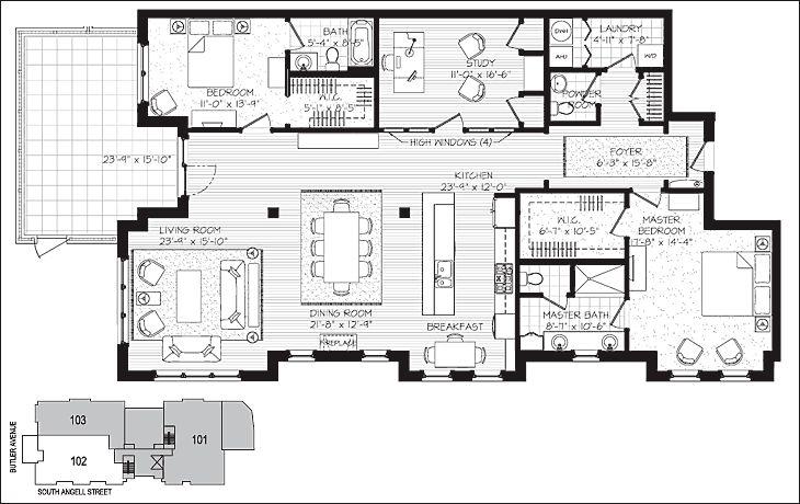 Best 25 luxury condo ideas on pinterest apartment view for Luxury condominium floor plans