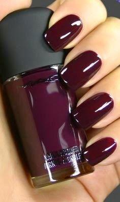 Deep Plum- beautiful color    unghie gel, gel unghie, ricostruzione unghie, gel per unghie, ricostruzione unghie gel http://amzn.to/28IzogL