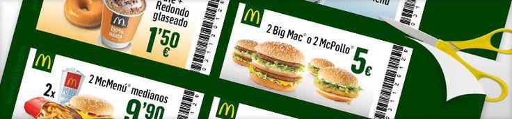 Cupones descuento de McDonald's