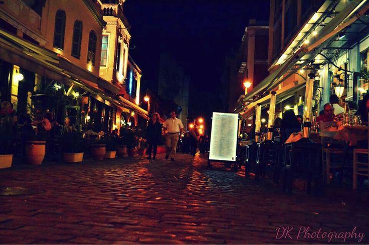 Thessaloniki by night! Ladadika| Greece| street photography | ·dk photography ·