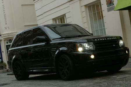 Blacked out Range Rover Sport Supercharged Dream  Sweet Rides