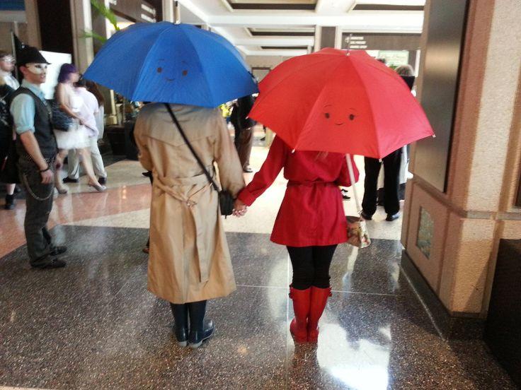 The Blue Umbrella cosplay Pixar short film released with Monsters University #disney #pixar #cosplay