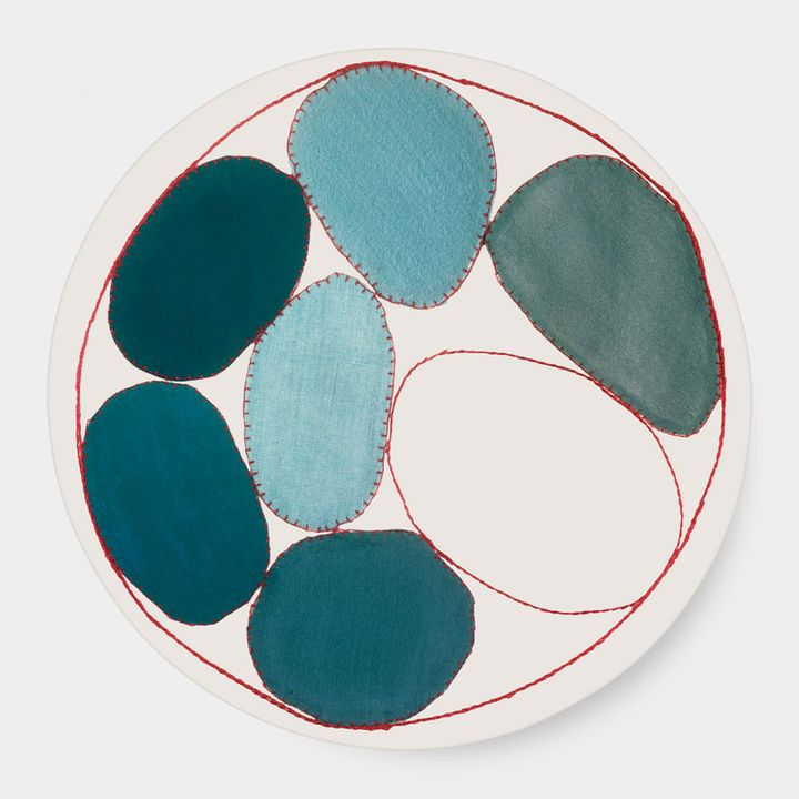 Third Drawer Down Studio ルイーズ・ブルジョワ:Blue Circles プレート