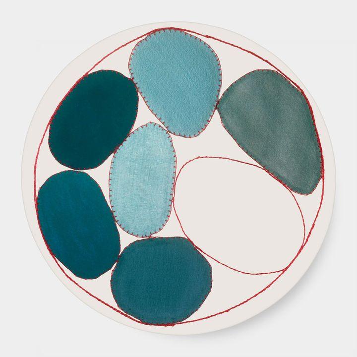 Third Drawer Down Studio ルイーズ・ブルジョワ:Blue Circles プレート / circle pillow on ShopStyle