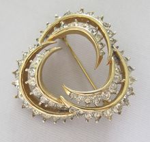 #515 Jomaz Crescent Pin $75  at Lee Caplan Vintage Collection on RubyLane