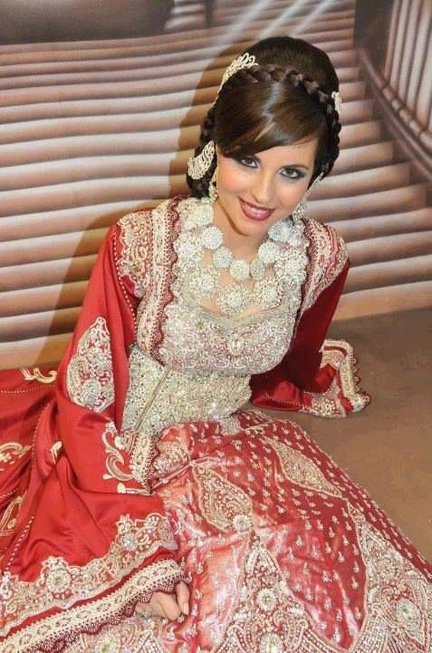 sari haute couture | takchita mariee caftan de mariage en sari rose haute couture