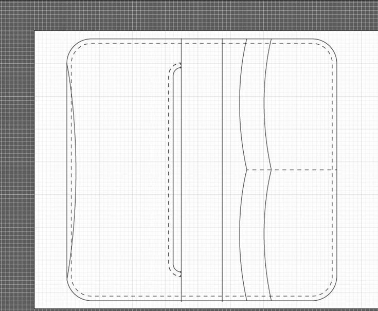 trucker wallet pattern leather patterns pinterest