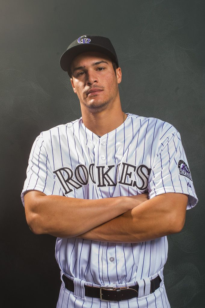 Nolan Arenado in Colorado Rockies Photo Day: