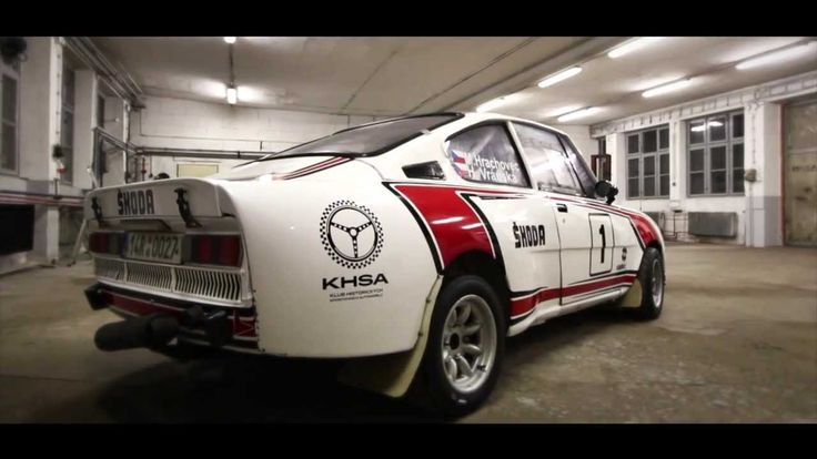 Rear-engined racing beast Škoda 130 RS from Czechoslovakia.