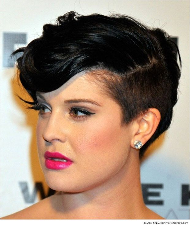 Curvy Mohawk Hairstyles for Women