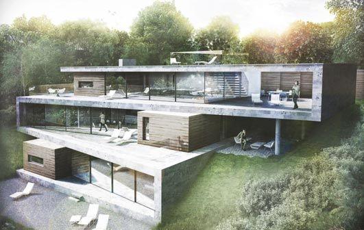 Folding House - England - e-architect