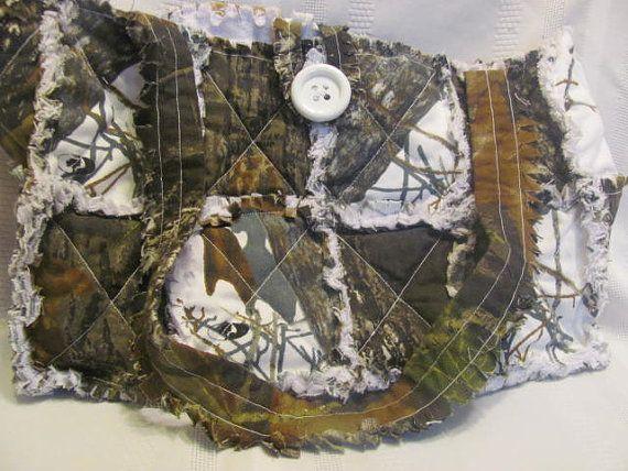 Mossy Oak Camo and White Mossy Oak Camo by morethanbearscrafts