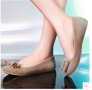 Women new fashion spring summer Casual flat round toe shallow mouth flat heel scrub PU shoes large plus size 40-43
