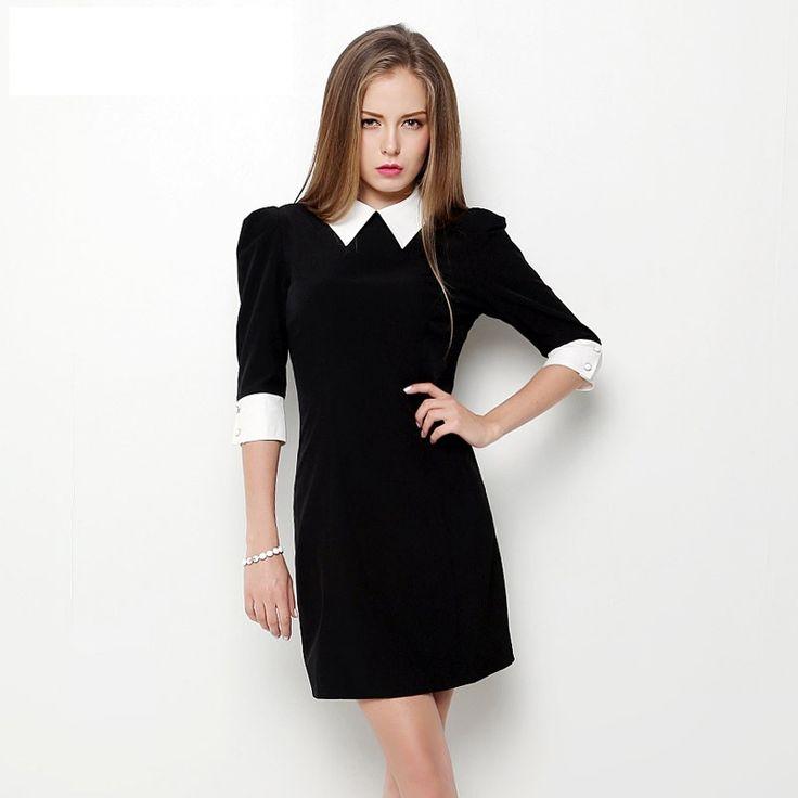 Короткие черные платья с белым воротником, новые коллекции на Wikimax.ru Новинки уже доступныhttps://wikimax.ru/category/korotkie-chernye-platya-s-belym-vorotnikom-otc-34972