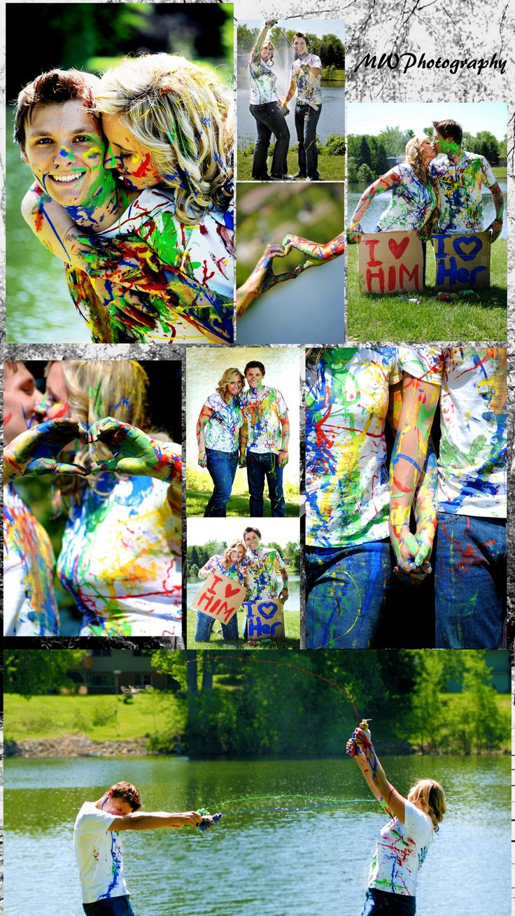 colorful Paint fight, couple photoshoot. It was a lot of fun to shoot. MW Photography    I love Photography! Check out my facebook page, send me an email, and lets get to know each other! www.facebook.com/...