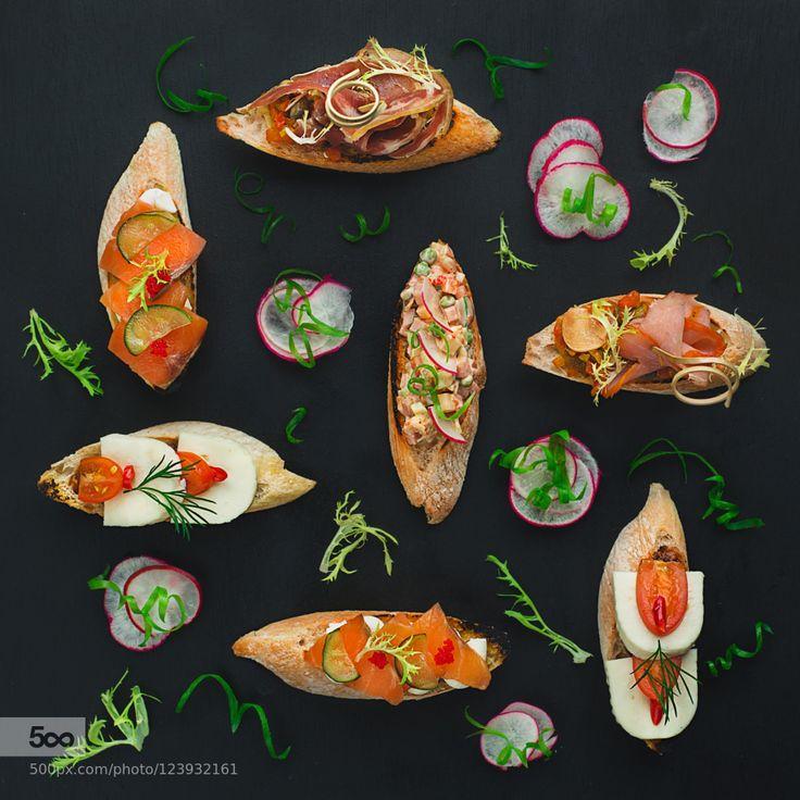 Bruschetta pattern by tastyphotos #Food #Drinks # ...