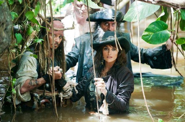 Capitão Jack Sparrow, Angelica T. & Barba Negra