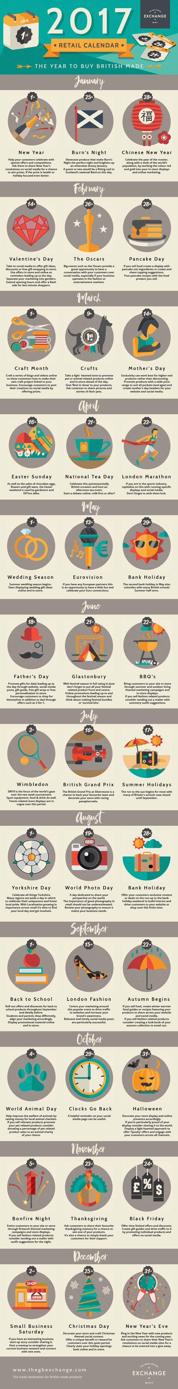 infographic, digital marketing, business, B2B, retail, British, email marketing #holiday, artisan, locally made