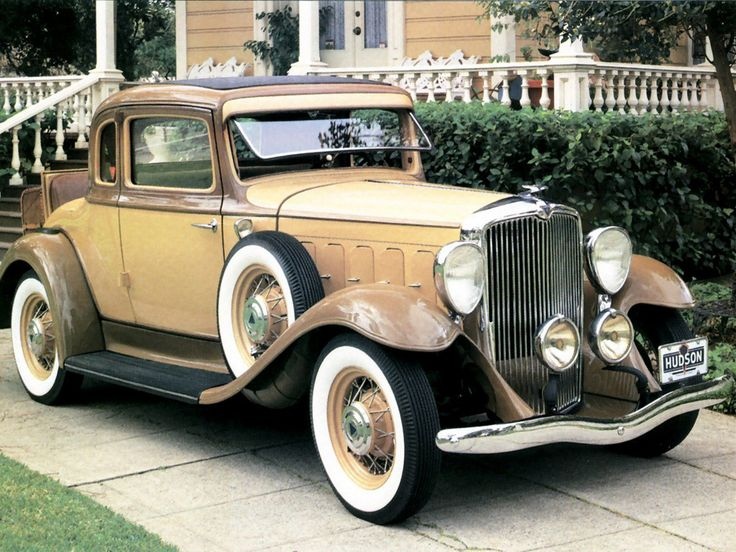 1932 - Hudson Great 8 - Hudson Motor Car Co. Detroit, MI 1909-1957