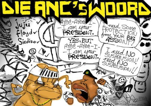 Here's Die Antwoord (now what was the question again?) [Cartoon by JERM]