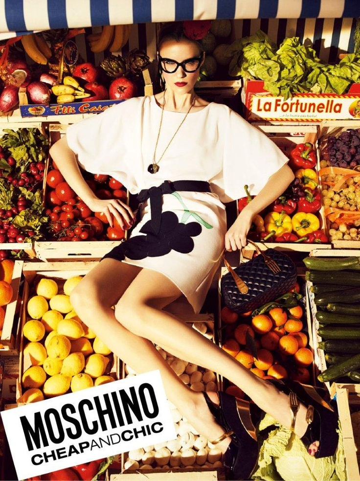 Moschino Cheap and Chic Spring/Summer 2012 AD Campaign